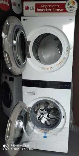 Venta de torre lavadora secadora