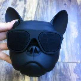 Perro Bulldog Parlante Bluetooth