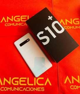 SAMSUNG GALAXY S10 plus 128gb originales factura nuevos garantia ANGELICA COMUNICACIONES