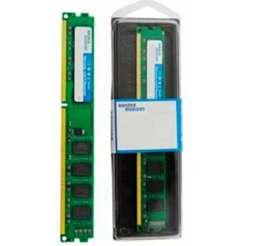 Memoria ram ddr2 2gb 800 mhz nuevas en blister. Marca generica. Para pc