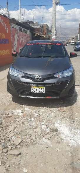 Se vende auto toyota Yaris por motivos económicos en óptimas condiciones es versión semifull
