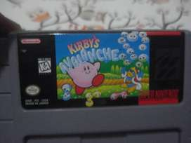 Juego Kirbis Avalanche Nintendo Snes Original Impecable