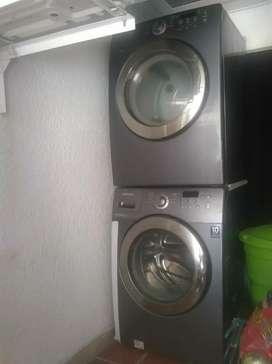 Lavadora y secadora samsung
