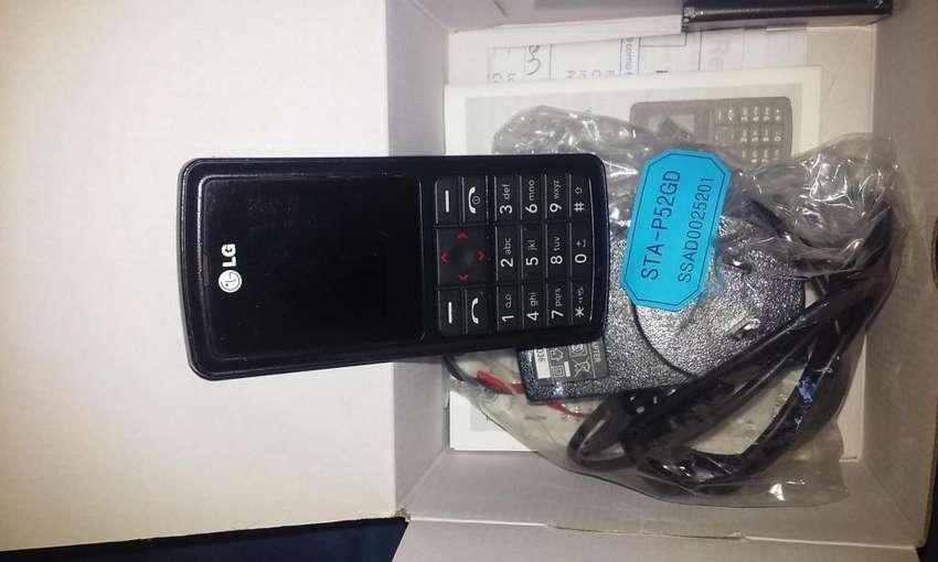 celular LG MG 160 usado en caja completo impecable 0