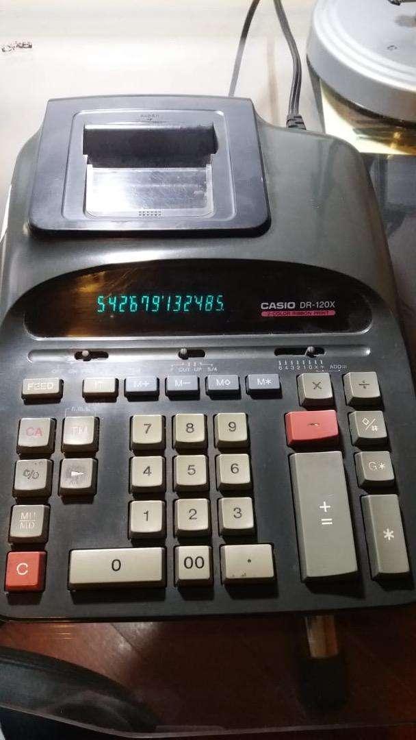 Calculadora casio con funcion a impresion 0