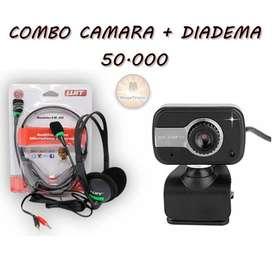 COMBO CAMARA + DIADEMA