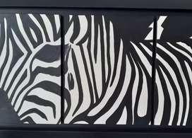 Cuadro de Zebra