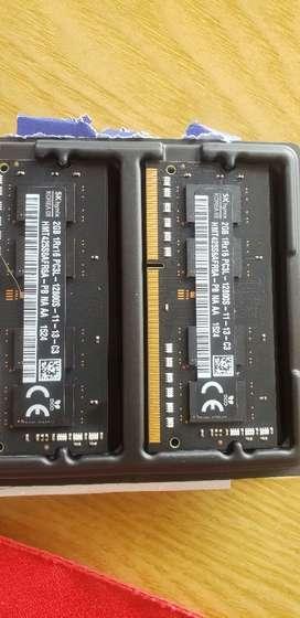 Memoria RAM DDR3 2GBx2 Mac ProMid 2012