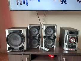 Se vende equipo de sonido favorable