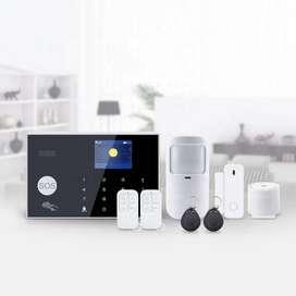 Kit De Alarma Inteligente Wifi - Gsm Inalámbrica Tuya Smart