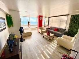 Commodore Bay club apartamento 505 frente mar con piscina y recepcion 24 horas con vista espectacular y remodelado