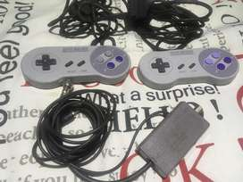 Controles y rf switch originales para super nintendo