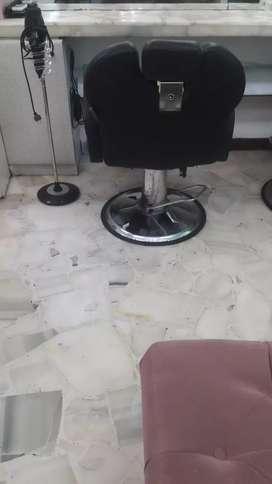 Alquiler de sillones para peluqueria en urdesa central