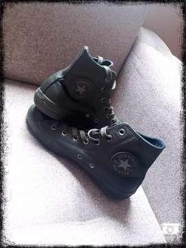 zapatos Converse Botines 100% originales 10/10 color verde aceituna