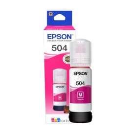 Tinta para impresora Epson 504 Magenta