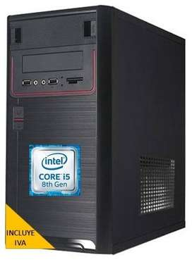 Computadora Intel Core I5 8va Gen 1tb 4gb Cpu, I3/I7 PRECIO INCLUYE IVA ENTREGA A DOMICILIO