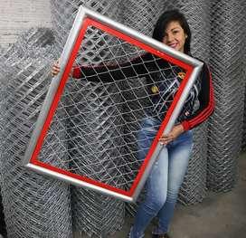 malla eslabonada para cerramientos - concertina - serpentina - gaviones