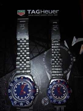 relojes Tag Heuer Formula 1 Swiss Made vendo pareja