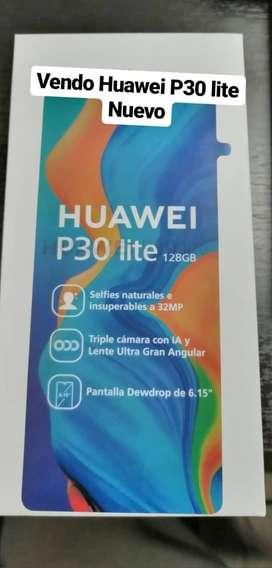 Huawei P30 lite, Nuevo de 128GB y 4GB RAM