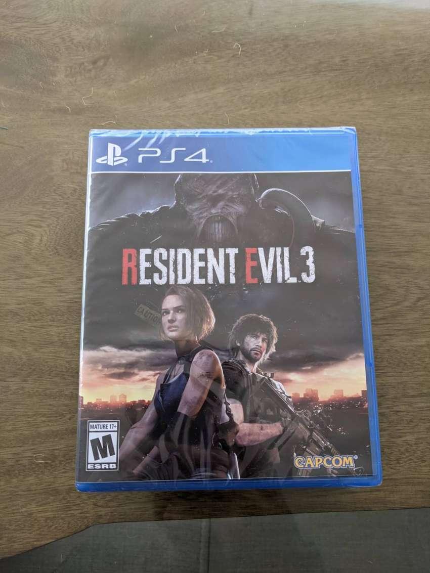 Resident Evil 3 PS4 NUEVO