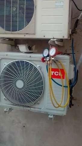Técnico refrigeración instalación y mantenimiento, reparación de aire acondicionado split