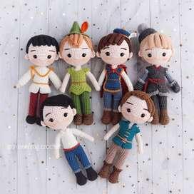 Patrón Principes Crochet - Amigurumi Patterns