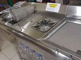 Vendemos Triples en Acero Inox 304 satinado indultrial