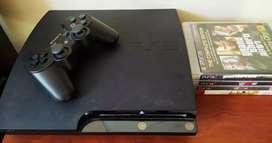 Vendo PS3 Completo de segunda mano.