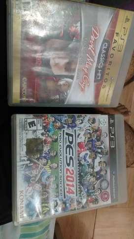 Play 3 juegos usados