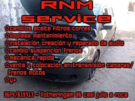 RNM SERVICE MECANICA - AUDIO - PINTURA - SOLDADURA