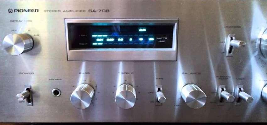 Amplificador Pioneer Sa708 N Kenwood Jbl 0
