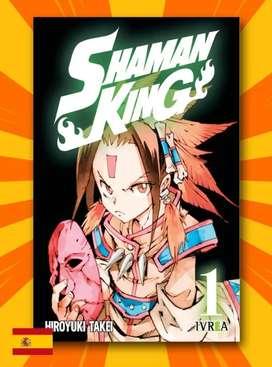 Manga SHAMAN KING Vol. 1 (precio negociable)