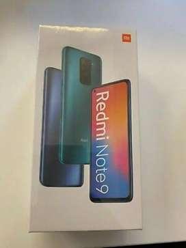Xiaomi note 9 nuevo
