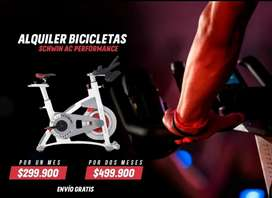 Alquiler de bicicletas de spinning