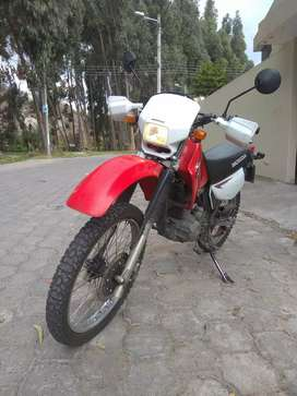 $3800 HONDA XL 200 año 2015 flamante