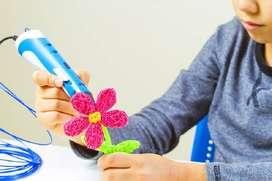 Lápiz 3d Pen Boligrafo Impresión 3d Dibujo+3 Filamentos