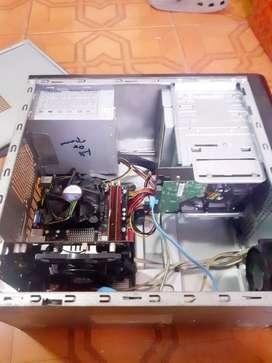 CPU / CORE 2 QUAD 8500 ( 4 NUCLEOS ) + AMD RADEON HD 4779 ( 128 BITS )  DDR5 ( PARA JUEGOS ) PS3 /  XBOX 360 /70 FPS