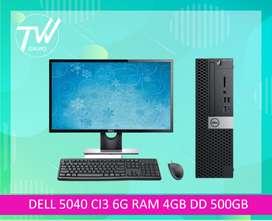DELL 5040 CI3 6G RAM 4GB DD 500GB.