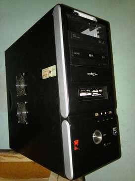 pc computadora quad core sin monitor lcd