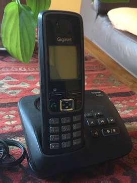 Teléfono Inalámbrico Gigaset - A420A Negro