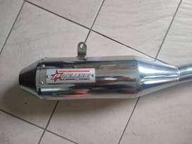 Escape Paolucci Competicion Honda Twister 250