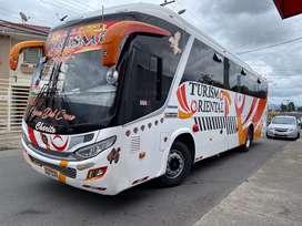 Vendo bus Hino Ak 2017 con puesto y acciones en la cooperativa Turismo oriental. Precio negociable
