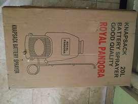 fumigadora Royal Pandora Eléctrica