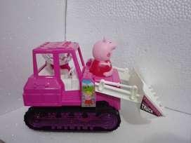 Excavadora Peppa Pig (nuevo)
