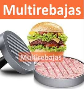 Molde Para Carne De Hamburguesa Herramienta De Prensa De Cocina Aluminio