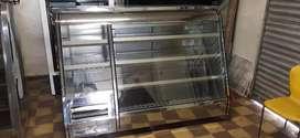 Nevera vitrina inducol en acero como nueva garantia 6 meses