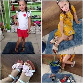 Zapatillas de niñas y dama buena calidad