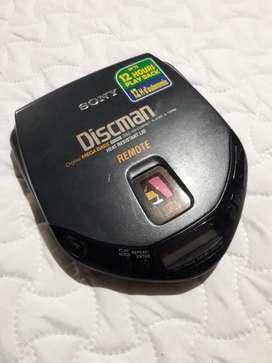 Discman Sony  D-178rm