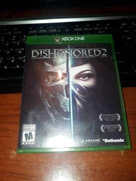 Dishonored 2 Para Xbox One VENDO O CAMBIO