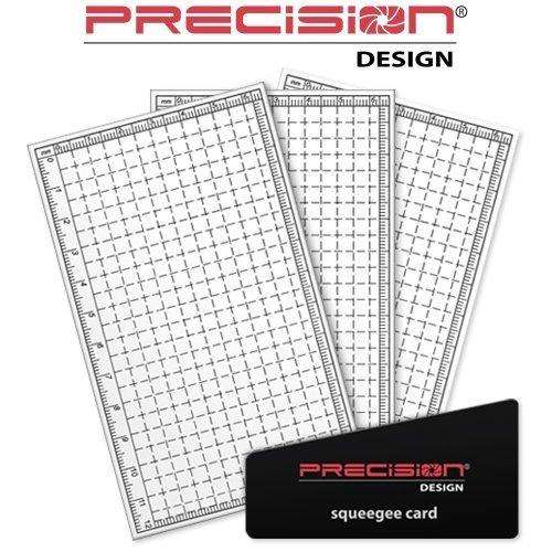 Precision Design 3 Protectores Universal Lcd 1.5 5.0 Pulgadas 0